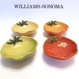 William Sonoma Heirloom Tomato Dipping Bowls